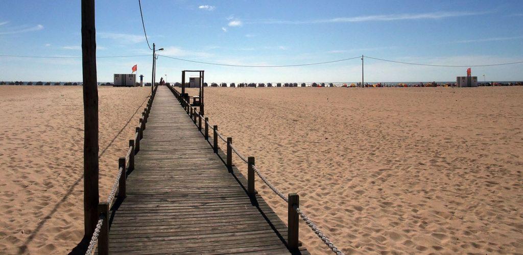 Figueira da Foz, plage et soleil au Portugal