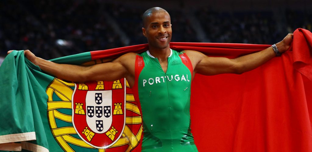 Nelson Evora, médaille d'or aux Jeux Olympiques