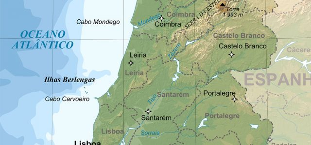 Carte du Portugal : géographie