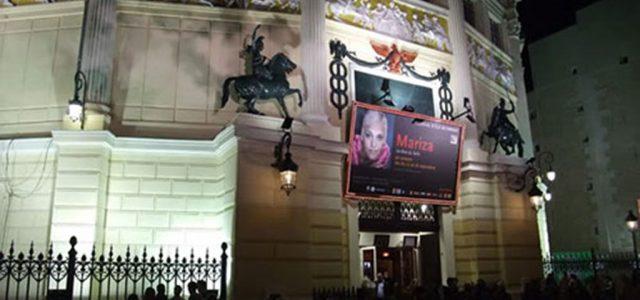 Concert de Mariza à Paris, avec Tito Paris