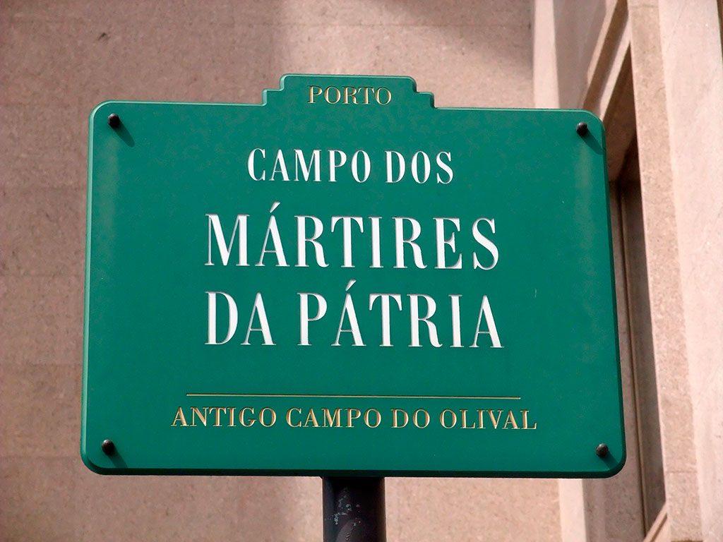 Plaque de rue, Porto