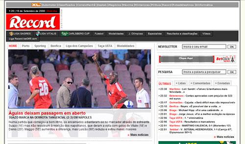 Journal sportif Record