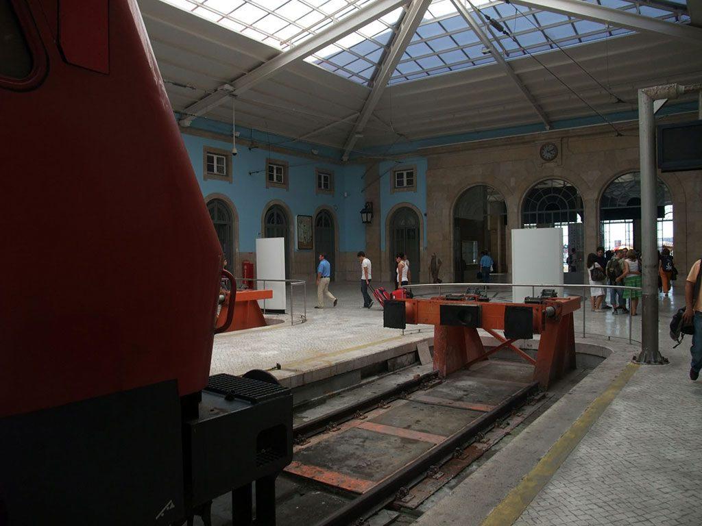 Terminus de la gare