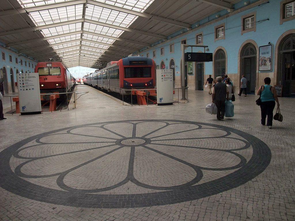Pavement de la gare