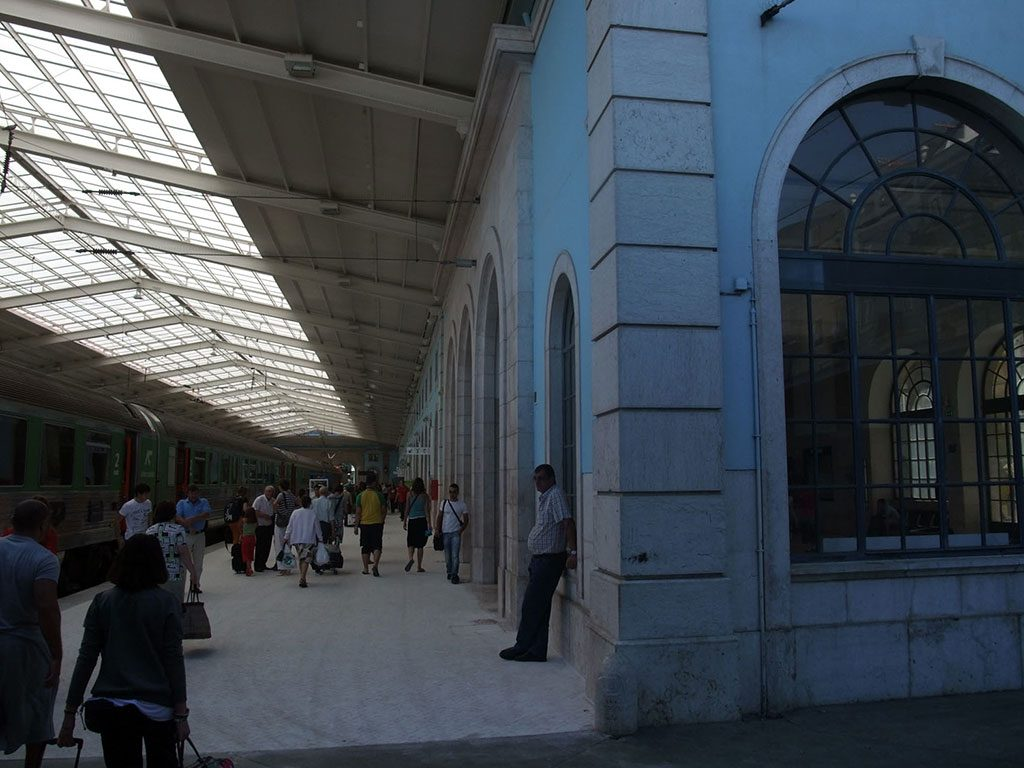 Activité à la gare