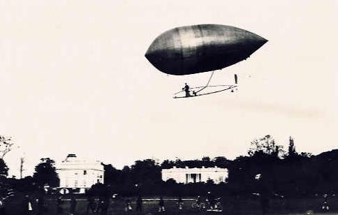 Ballon dirigeable numéro 9, de Santos-Dumont
