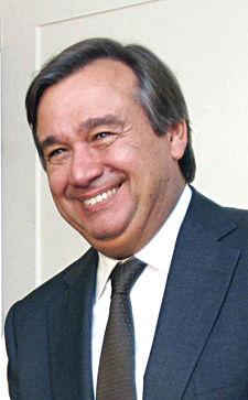 Antonio Guterres. Source : wikipedia