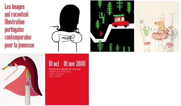 Affiche de l'expo illustration pour les jeunes