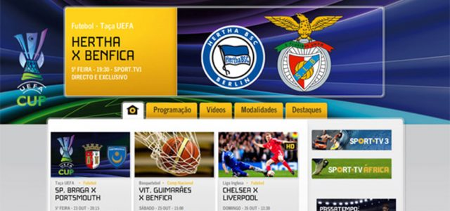 Sport TV retransmet le match Hertha Berlin - Benfica, va falloir regarder sur Direct 8