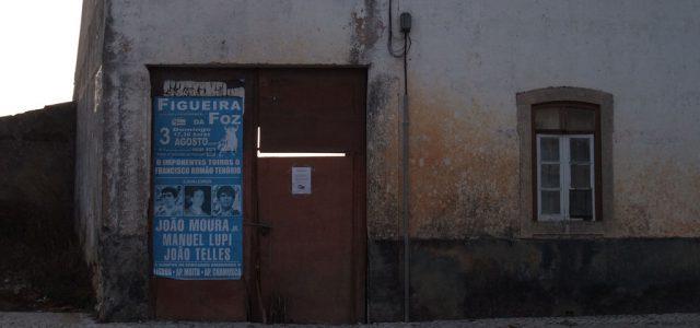 Affiche pour une corrida à la portugaise