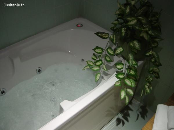 Baignoire et bain à bulles