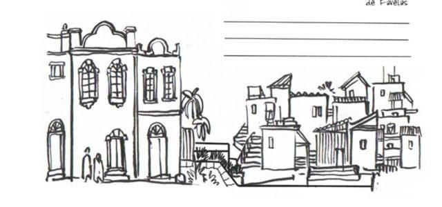Carnet de voyage au Brésil, dessiné par emdé
