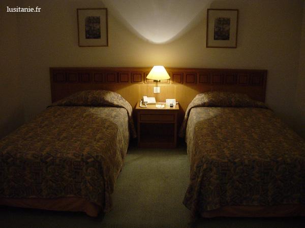 Chambre twin, lits séparés