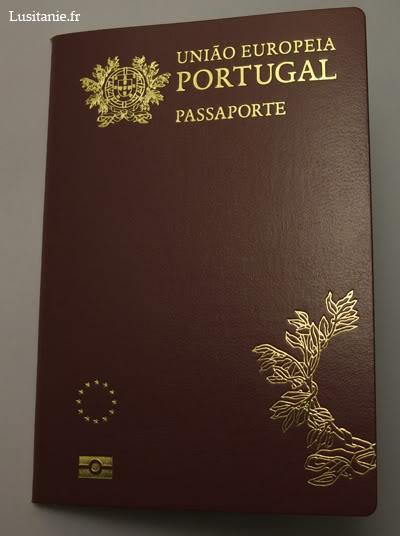 Passeport électronique portugais