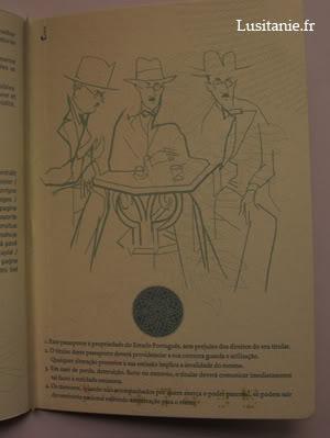 Dernière page, avec une illustration de Julio Pomar