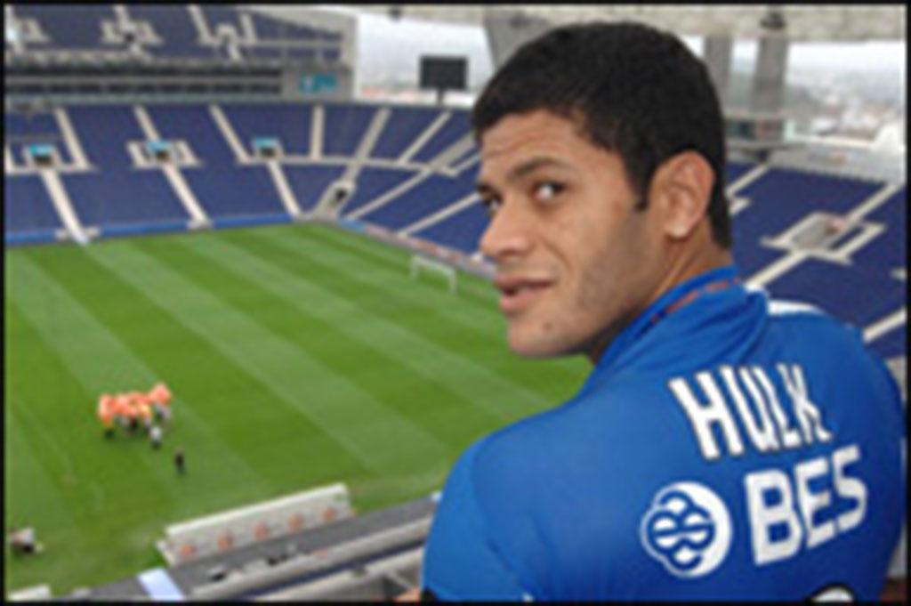 Joueur de foot de Porto : Hulk