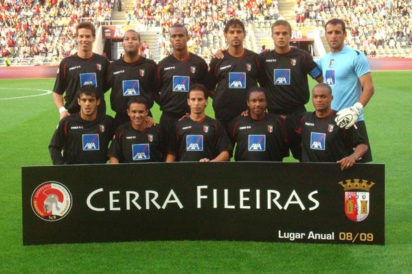 équipe du Sporting de Braga, source UEFA.com