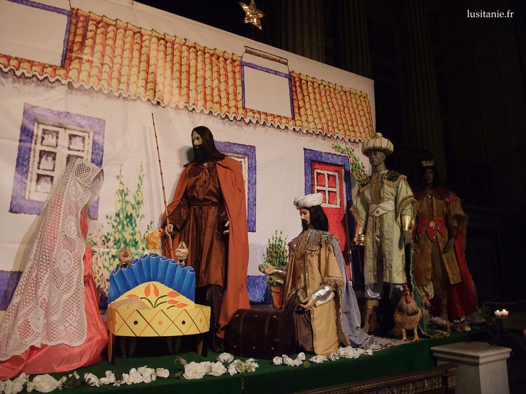 Crèches de Noël du Portugal à l'église de la Madeleine, Paris