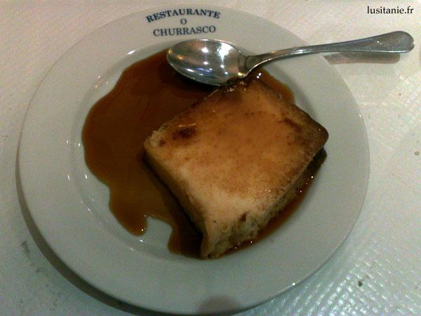 Pudim, dessert portugais