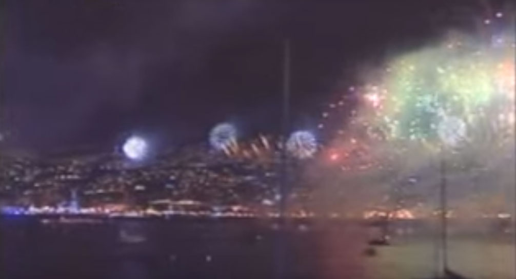 Feu d'artifice de Madère : le plus grand du monde