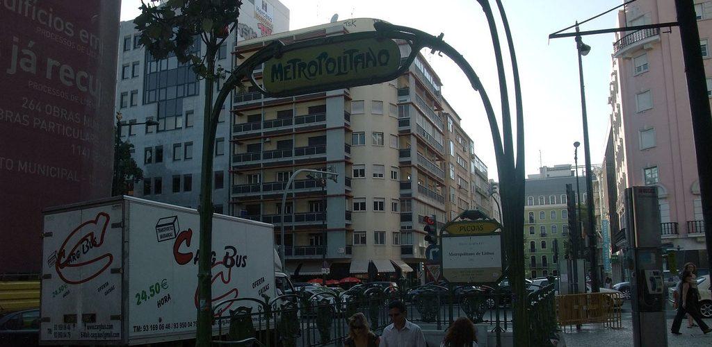 Station Picoas : une station de métro parisienne à Lisbonne ?