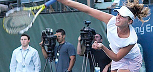 Michelle Larcher de Brito : joueuse de tennis portugaise