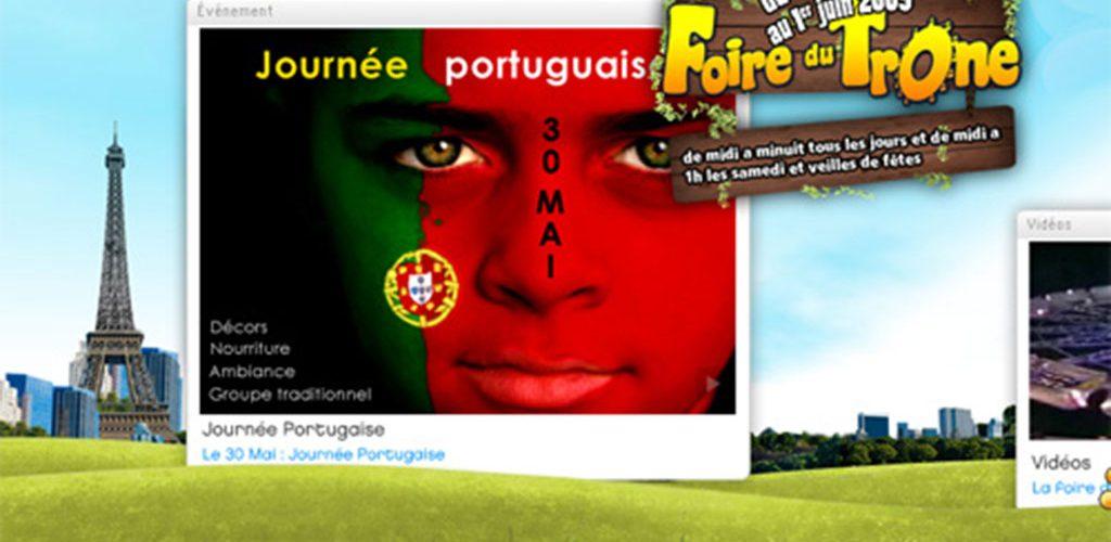 Journée portugaise à la Foire du Trône