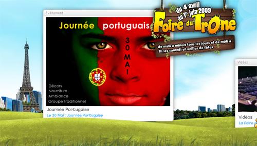 La Foire du Trône aux couleurs du Portugal