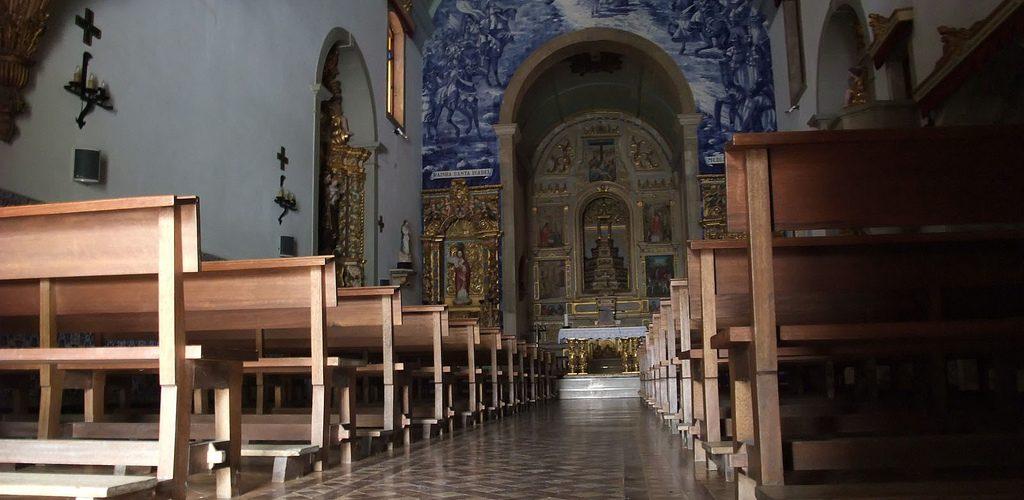 Igreja Matriz de Pombal : église de São Martinho