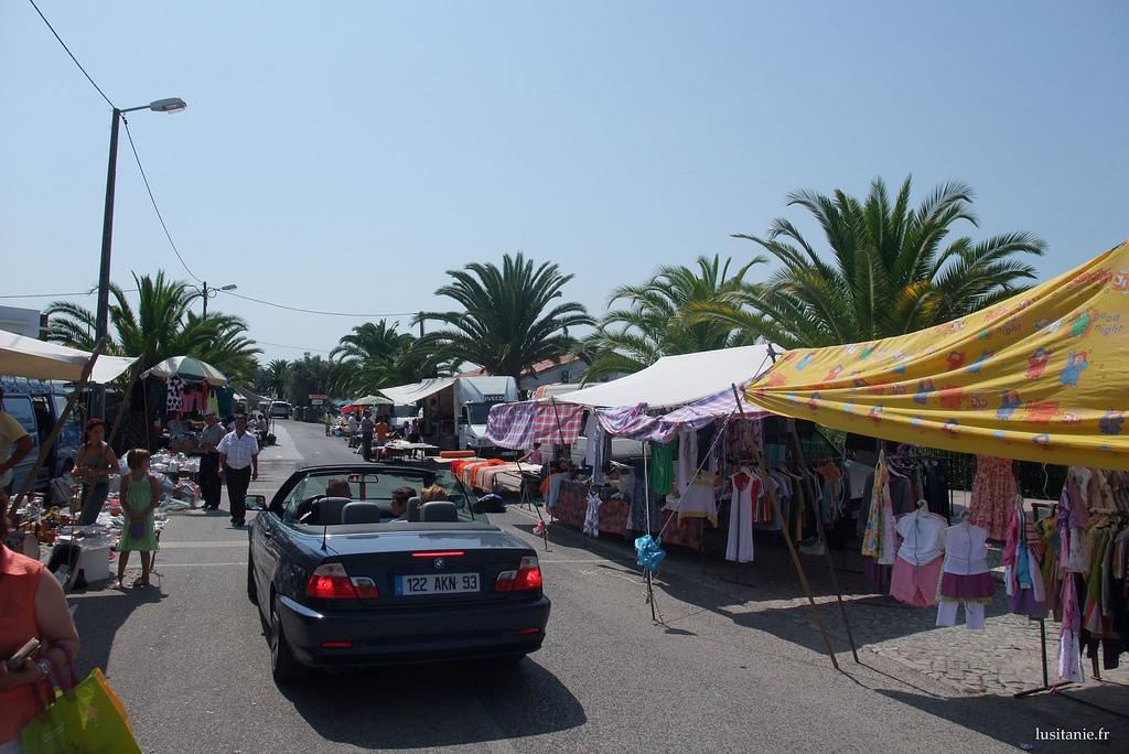 Jour de marché au Portugal : Feira dos 13, Bajouca