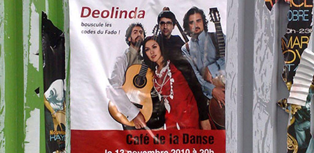 Deolinda en concert au café de la danse, Paris