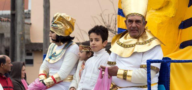 Carnaval à Carreira, près de Leiria au Portugal
