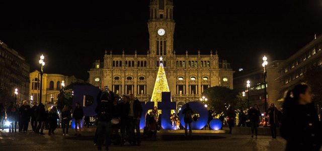 Illuminations de Noël à Porto