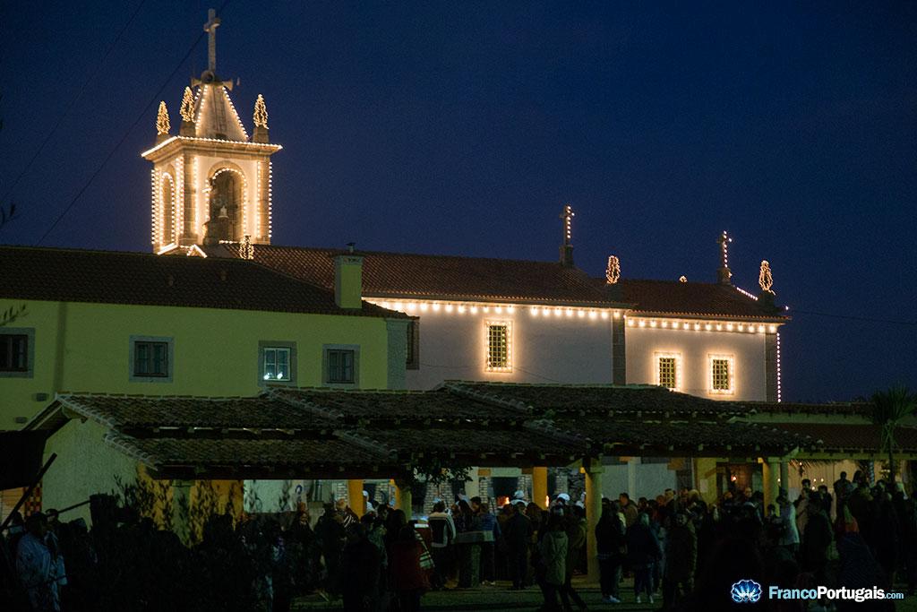 L'église de São Tiago (Saint Jacques), à Priscos.