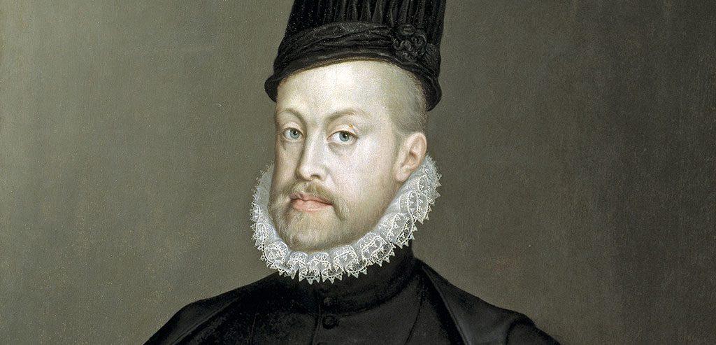 Roi Philippe II d'Espagne