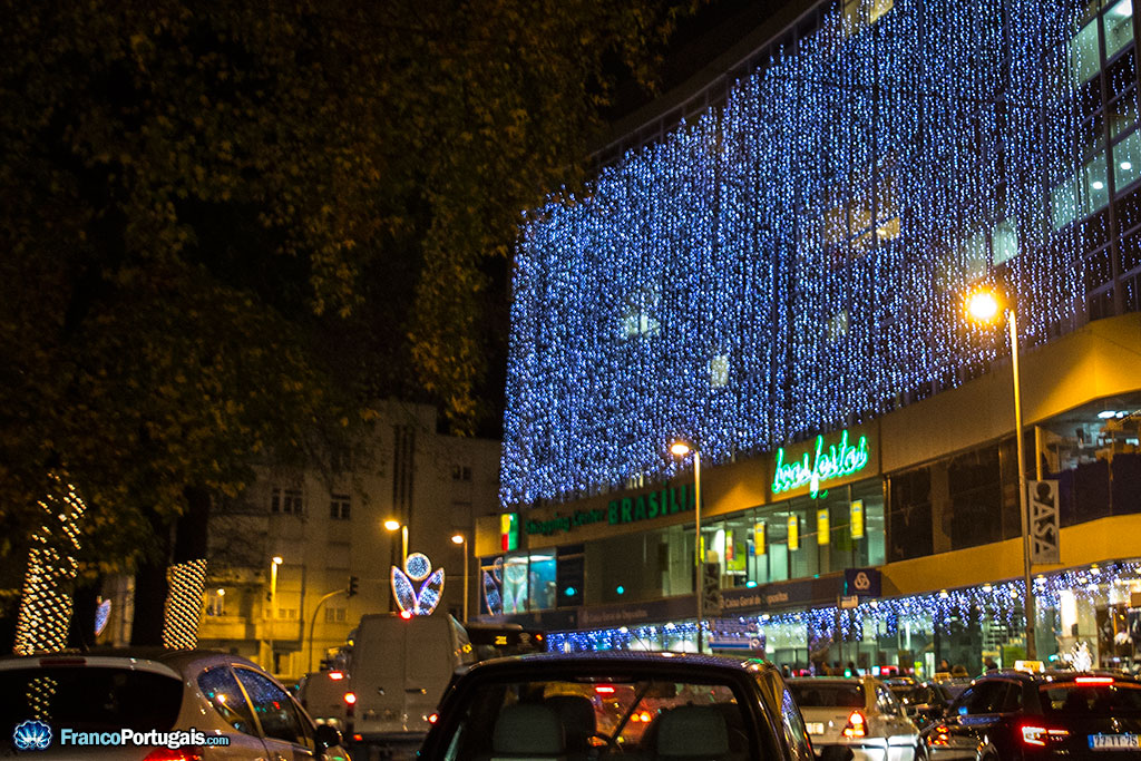 Le centre commercial Brasilia, sur la Rotonde de Boavista.