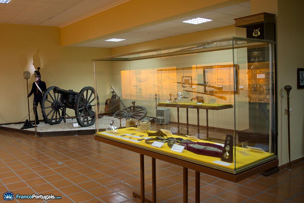 Le musée expose de nombreuses pièces utilisées lors des guerres napoléoniennes.