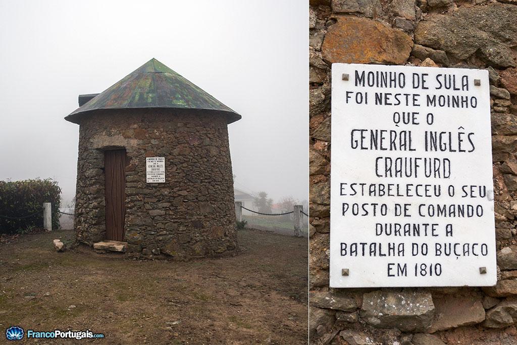 C'est dans ce moulin, le moulin de Sula, que Craufurd, bras droit de Wellington, avait son poste de commandement.