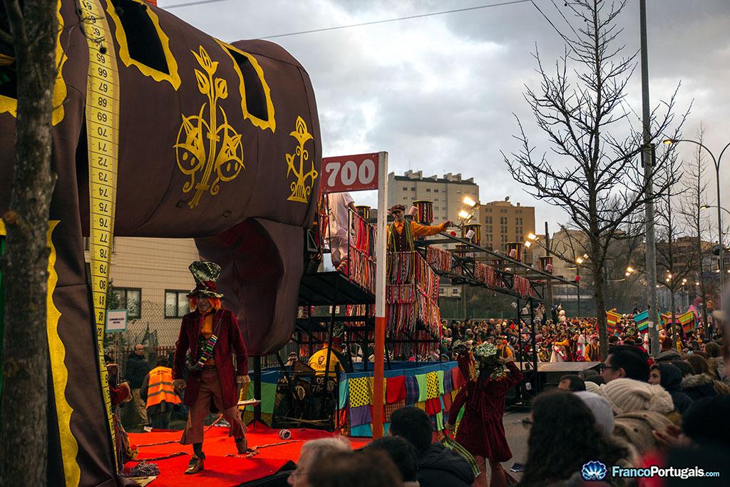 char vainqueur du Carnaval 2018