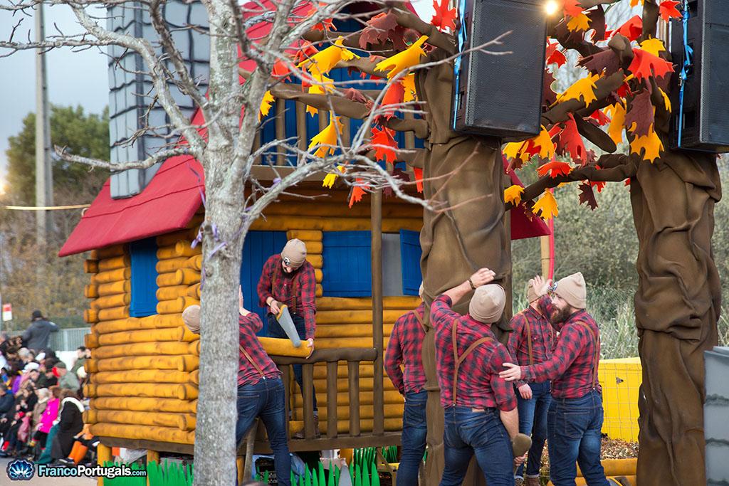 bûcherons au Carnaval