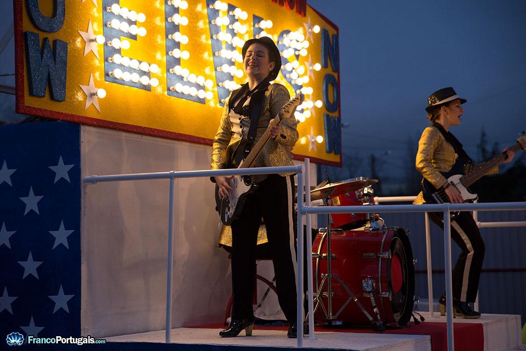 musiciennes d'Elvis