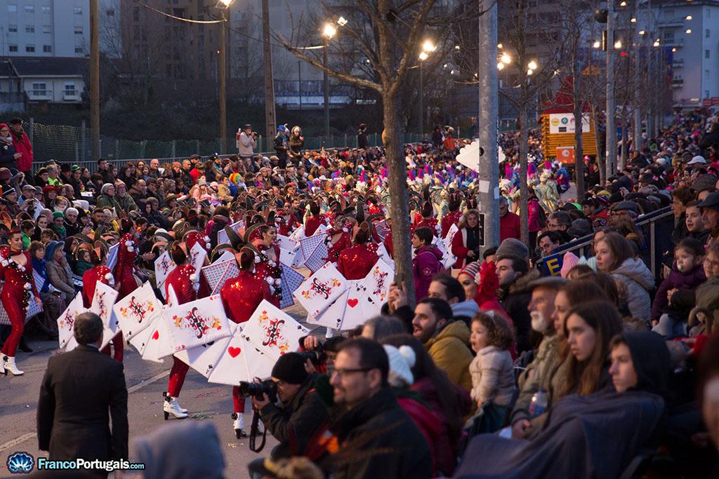 200 figurants au Carnaval de Ovar