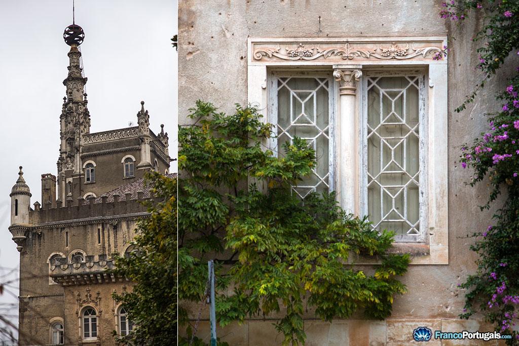 Tour du palais et fenêtre