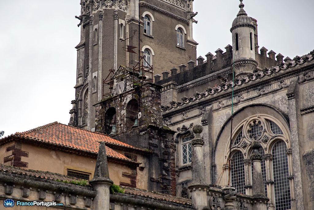 clocher de l'église de Buçaco