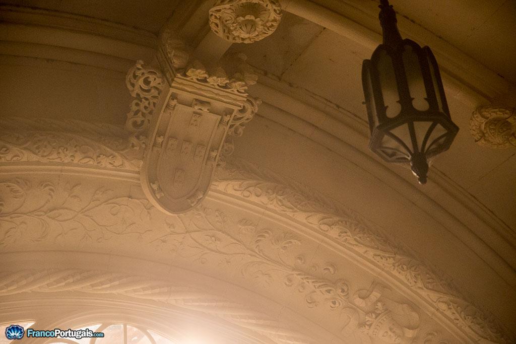 Les symboles du Portugal se retrouvent un peu partout dans la décoration...