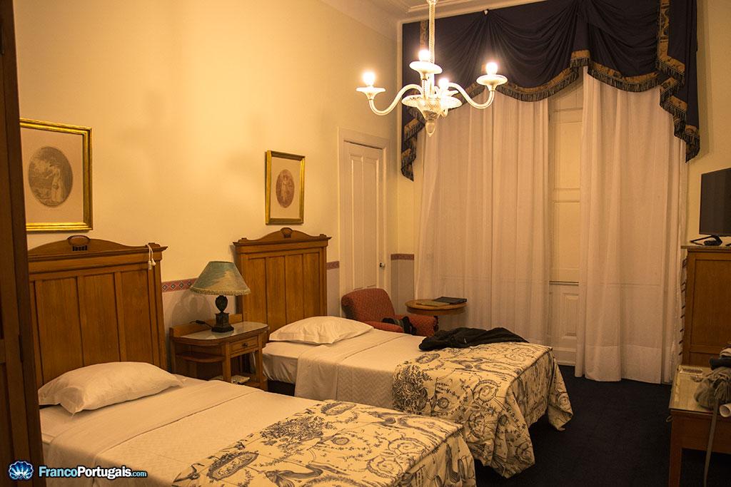 chambre d'hôtel de Buçaco