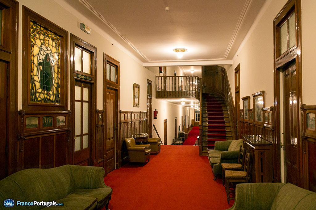 Couloirs de l'hôtel