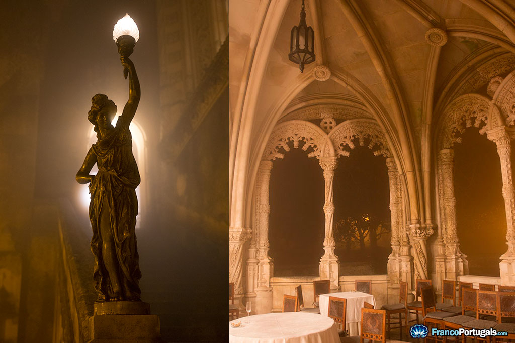 C'est dans les détails qu'un monument de la sorte fait la différence. A droite, la terrasse du restaurant.