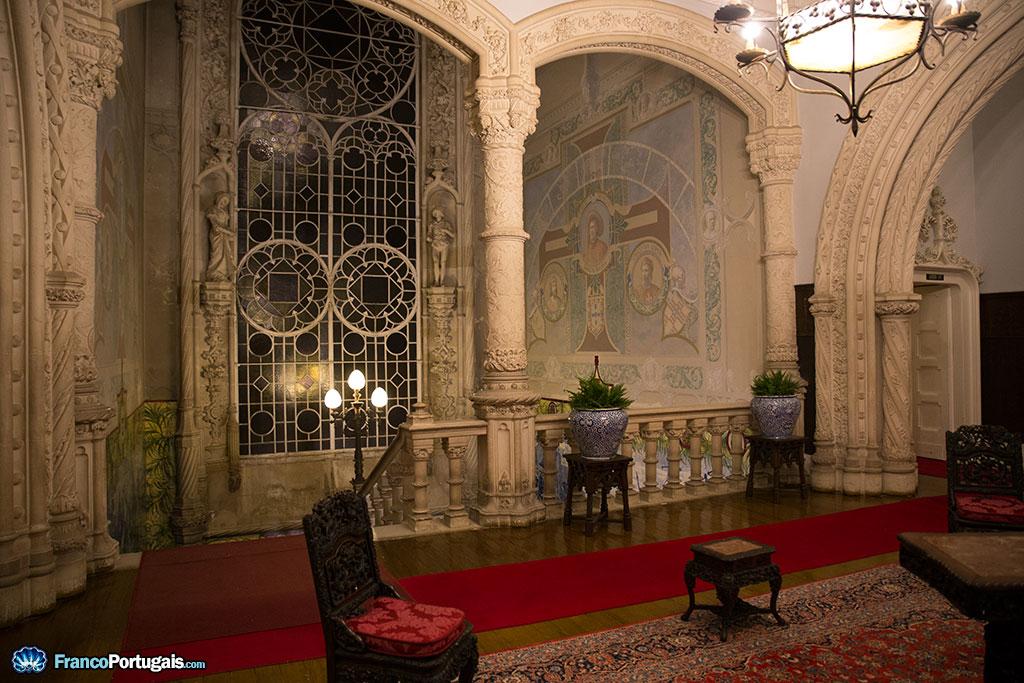 décoration du palais de buçaco