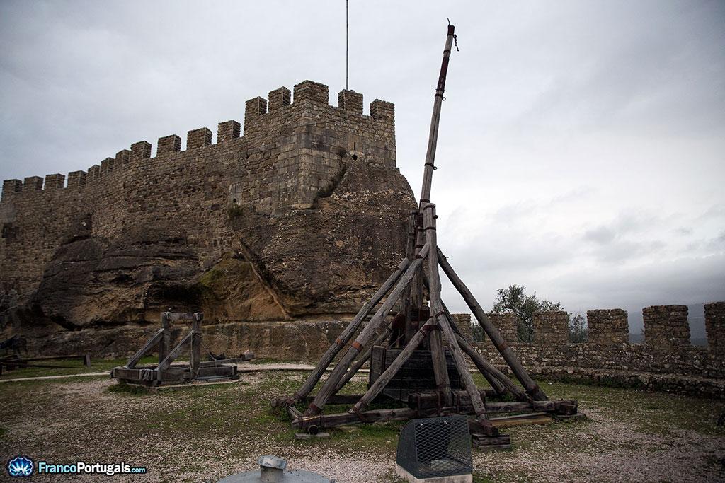 mangonneau du château de Penela